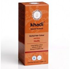Khadi Herbal Hair Colour Natural Hazel colours hair a dark brown without any redness. Benefits of Khadi Herbal Hair Colour. Herbal Hair Dye, Herbal Hair Colour, Hair Color, Natural Shampoo, Natural Haircare, Henna Hair Dyes, Dyed Hair, Really Curly Hair, Tips