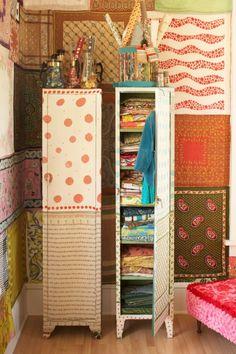 Querido Refúgio - Blog de decoração: Ideias com armários de metal (industrial)