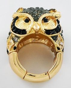 Owl Cocktail Ring from my Daughter's Jewelry Company! - Up for Auction! - email mdoan@melissadoan.com for more info.