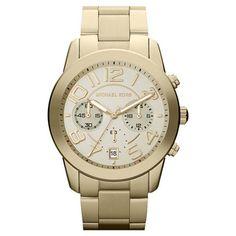 Michael Kors Women's MK5726 ' Mercer' Gold-Tone Stainless Steel Watch | Overstock.com Shopping - The Best Deals on Women's Michael Kors Watches
