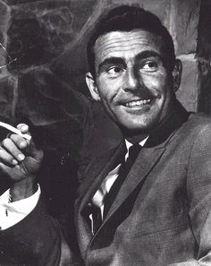 "6/16/15  9:19p  Rod Serling - Screen Writer best known for his shows, ""The Twilight Zone"" and ""Night Gallery""     12/25/1924-6/28/1975 at the age of 50 From Smoking A Very Bad Habit. rodserling.com"