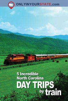 Travel | North Carolina | Day Trips | Train Trips | Train Rides | Trains | Explore North Carolina | Explore America | Bucket List