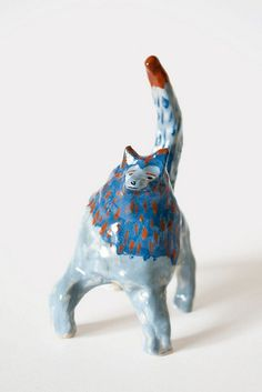 Blue lion Earthenware 2013