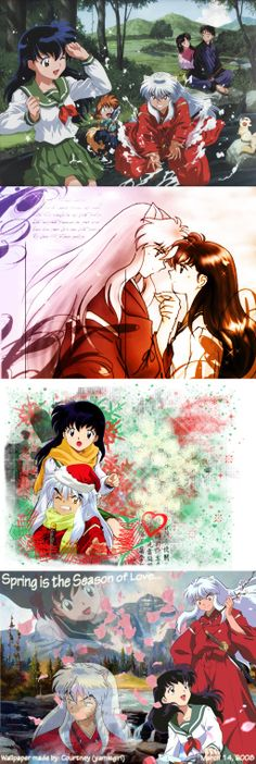 Inuyasha and Kagome - what a wonderful s...