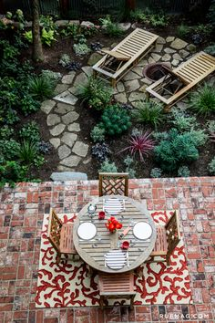 Patio Makeover with Loloi Rugs   Rue   Venice Beach Rug: http://www.rugs-direct.com/Details/LoloiRugs-VeniceBeach-VB16/112343/179224?source=sp-pinterest