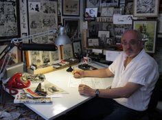 Jordi Bernet in studio
