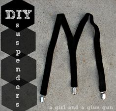 A girl and a glue gun: suspenders--E play costume
