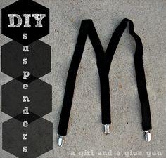 A girl and a glue gun: DIY suspenders