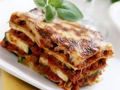 Rezept: Hackfleisch-Zucchini-Lasagne