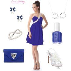 """Bridesmaid Dress, Ever Pretty Dress"" by caroleverpretty on Polyvore"