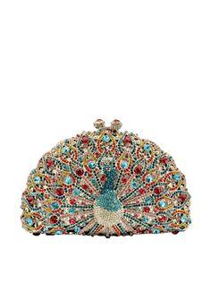 www.myhabit.com Purse Hand-set Austrian crystals glitter on this regal minaudière, secured with a kiss-lock clasp