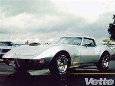 1975 Chevy Corvettes Silver C3 Corvette