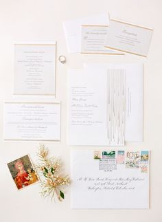 Classic gold wedding suite from The Dandelion Patch