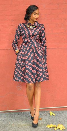 African Print Dress - The Yétundé Coat ~Latest African Fashion, African Prints… African Inspired Fashion, African Print Fashion, Africa Fashion, Fashion Prints, Fashion Design, Fashion Styles, Men's Fashion, African Print Dresses, African Fashion Dresses