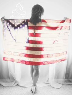 Military American flag boudoir Photography https://www.facebook.com/LaceySwearingenPhotography