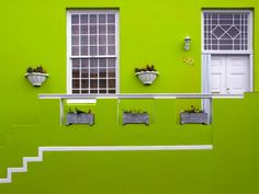 Green House | Located In The Bo Kaap Malay Quarter In Cape Town | South Africa | Photo By Frank Bramkamp
