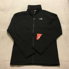 The North Face Holata full zip fleece jacket Small The North Face Holata full zip fleece jacket Small. tnf black hthr. NEW, never been worn. North Face Sweaters