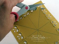 Rectangle Frame made with Corner Punches Tutorial » Our Daily Bread » Stamping » Tutorials » Amazing Paper Grace