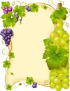 Grape vine fra,e