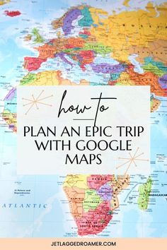 Planning a trip? Find out the best travel app to make trip planning a breeze. After reading this post you will know all the travel tips to using Google maps for easy travel planning. Get the travel tips and tricks to using this best travel app right here. Google Maps // Trip Planning // Travel Hacks // Travel Tips // Travel Hacks And Tips // Travel Apps Best Travel Apps, Travel Tips, Travel Hacks, Airplane Travel, St Helena, Travel Planner, Travel Packing, Trip Planning, How To Plan