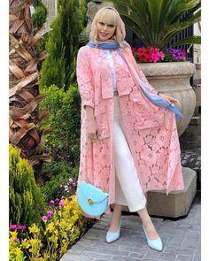 Image may contain: 1 person, standing and shoes Dubai Fashion, Abaya Fashion, Cardigan Fashion, Star Fashion, Fashion Dresses, Womens Fashion, Iranian Women Fashion, Indian Attire, African Dress