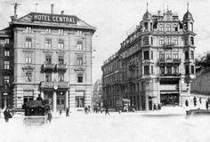 Hotel Central am Bahnhof 1903 Multi Story Building, Europe, Paris, History, City, Past, Knowledge, Pictures, Historia