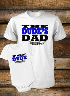 8a625fb9c Personalized Father and Son Shirts | ... Dad and Son Shirt Set Father and