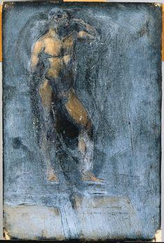 Edward Hopper  Standing Male Nude,   1904,