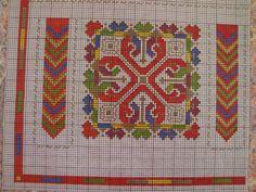 Χειροτεχνήματα: Σχέδια της Ντε μι σε για κέντημα / DMC cross stitch patterns Dmc Cross Stitch, Cross Stitching, Cross Stitch Patterns, Bargello, Embroidery Designs, Projects To Try, Miniatures, Kids Rugs, Ideas