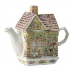 James Sadler Teapots - Wysteria Lodge
