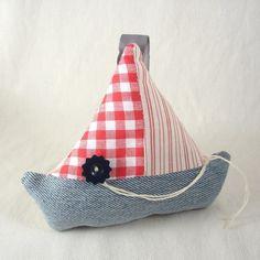 šití pro nejmenší - lodička