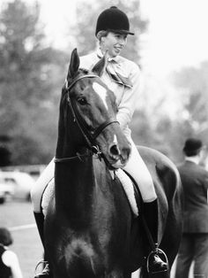 Princess Anne - equestrienne.   Brilliant rider and took no shit