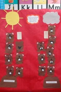 Groundhog prediction.   