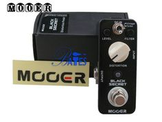 Aliexpress.com : Buy NEW Effect Pedal /MOOER Guitar Effect Pedal Black Secret Distortion Pedal True bypass,Free shipping best guitar pedal from Reliable Effect Pedal suppliers on Feier MUSIC $88.00