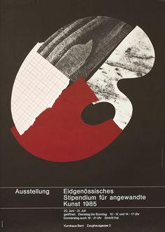 Ausstellung Eidgenossisches by Armin Hofmann Graphic Design Posters, Graphic Design Inspiration, Armin Hofmann, Poster Online, Original Vintage, Typography Layout, Flyer, Illustrations And Posters, Retro Design