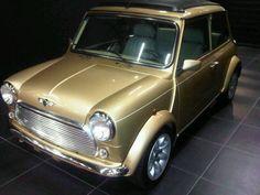 Original Mini with gold finish