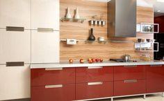 Striking High Quality Kitchen Backsplash Designs: Wood Light Natural Backsplash ~ Kitchen Inspiration