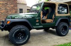 Lifted Jeep Wrangler TJ Sahara LOW MILES