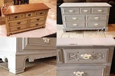 How to use chalk paint to redo a dresser