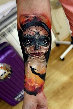 Rock Ink | Festiwal tatuażu Cropp Tattoo Konwent Tattoo Convention, Watercolor Tattoo, Ink, Portrait, Tattoos, Pictures, Photos, Tatuajes, Headshot Photography