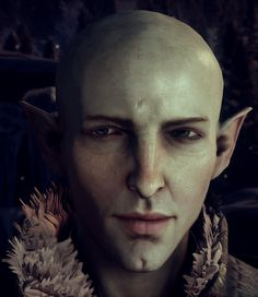 I know everyone says Solas is a dick but I still love his character, and just look at that egg's face.