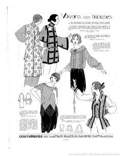 Les Modes de la femme de France | 1922-02-19 | Gallica