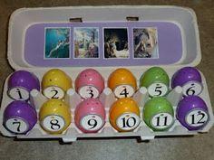 Easter Egg scripture story.