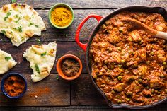 quick Chicken Tikka Masala 2 / Photo by Chelsea Kyle, food styling by Rhoda Boone Chicken Tikka Masala, Chicken Tika, Indian Chicken, Indian Food Recipes, Asian Recipes, Healthy Recipes, Easy Recipes, Alkaline Recipes, Primal Recipes