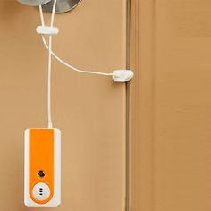 Amfor Shock Anti Theft Alarm For Household Door And Windo. Door Alarms, Nintendo Wii Controller, Household, Windows, Led, Ramen, Window