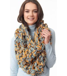 Snappy Seed Stitch Cowl