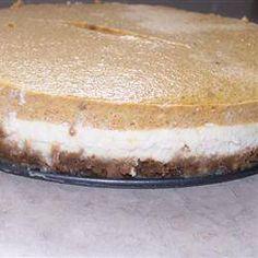 Delicious recipe to make Pumpkin Cheesecake