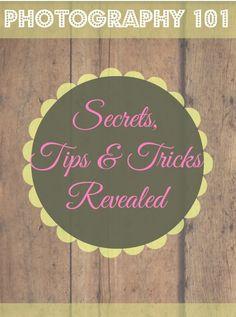 Photography 101 Tips and Tricks-Lighting | http://sewlicioushomedecor.com