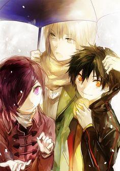 Urushihara, Maou, and Ashiya ~ Hataraku Maou-sama Devil Part Timer, Hataraku Maou Sama, Anime D, Anime Boys, Maid Sama, Another Anime, Manga Love, Blue Exorcist, Cute Friends