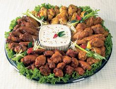 hot variety wing tray $44.99 for 75pcs from price chopper